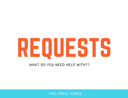 Request nursing review topics